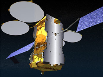 Le satellite KA-SAT en action